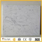 Чисто белый искусственний мраморный каменный мрамор