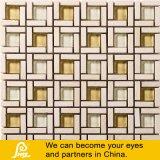 Каменная мозаика смешивания в квадрате для стены в беже