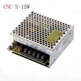 Wechselstrom IP20 Ein-Output-LED dem Fahrer zur Gleichstrom-Schalter-Stromversorgungen-5V 12V 24V 15W