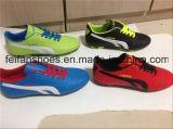 Zapatos del balompié de las tallas de los hombres de los precios bajos, zapatos del fútbol con modificado para requisitos particulares (FFSC1115-01)