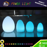 Impermeable Float LED Egg Glow Illuminated LED huevo para la Pascua