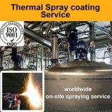 Plasma-Spray-Gerät - Chemikalie, die industrielle Biochemikalie-Reaktor-biologische Brennstoffe Bioplastics Behälter-Oberflächenbeschichtung-Reparatur für Antikorrosion Errosion aufbereitet