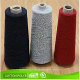 12s 14s 16s 20s ha riciclato il filato mescolato poliestere del cotone del calzino