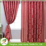 O escurecimento barato da alta qualidade dos estilos vermelhos das cortinas drapeja