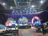 Shenzhen vende al por mayor la pantalla de visualización fija de alquiler de LED de la etapa de interior P3.91