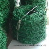 Тип колючая проволока девиза загородки сетки колючей проволоки