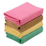 Toalla de cocina de encargo del algodón de la tela de Microfiber