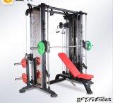 Máquina multi de la cruce del cable de Smith de la función de la gimnasia del equipo de la aptitud