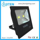 고성능 LED 플러드 빛 100W LED 투광램프 IP65 옥외 LED 투광 조명등