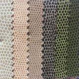 Couro sintético do PVC para a fatura das sapatas da bolsa