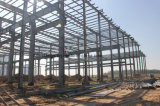 Edificios prefabricados de la estructura de acero de la alta calidad en propiedades inmobiliarias de la construcción