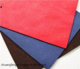 2017 couros elegantes de Microfiber da camurça de 1.4mm para a mobília calç a bolsa do saco do forro