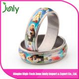 Anillo de compromiso de las fotos de los anillos de dedo de las mujeres del anillo de la manera