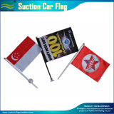 Facendo pubblicità alla bandierina miniatura dell'automobile della tazza di aspirazione (B-NF24F03002)