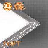 Dlc a indiqué la lumière à panneau plat de 130lm/W DEL, 2X2/2X4/1X4FT