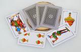 50 tarjetas que juegan de papel españolas /Naipes de las tarjetas