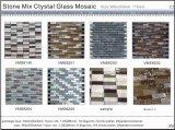 Mosaico di vetro dorato di arte (VMW3108)