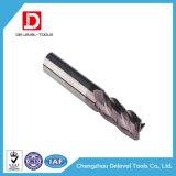 Molino doble del carburo del acero de tungsteno del espiral de la flauta
