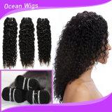 tramas reais brasileiras do cabelo do Weave do cabelo humano do Virgin da alta qualidade da classe 8A
