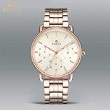 Form-Chronograph-moderne Uhr-kundenspezifische Marken-Uhr-Edelstahl-Mann-Uhr 72690