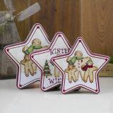 Pentagram-/Fünf-Spitze Stern-Form-/äquilaterales Dreieck-Zinn-Kasten