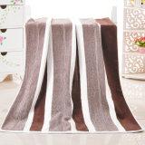 古典的な縞の最大柔らかさの浴室タオルの大き浴室タオル