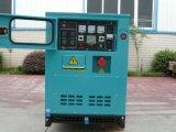 Aolin verwendeten Dieselgenerator-Sets leiser Typ, Wetter-Beweis, Haus 20kw