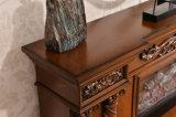 ヨーロッパLEDを切り分けるホテルの家具TVの立場はつける熱するFirepalce (320SS)を