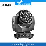 Indicatore luminoso capo mobile del migliore di prezzi LED 19PCS*15W grande occhio dell'ape con lo zoom