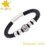 Stlb-024 comerciano i braccialetti all'ingrosso poco costosi dell'oro di modo per gli uomini