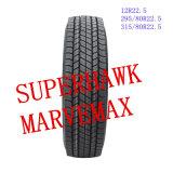 Pneu chinês do tipo TBR de Superhawk&Marvemax da alta qualidade