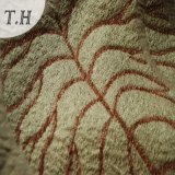 Chenille Jacquard Fabric Leaf Design (FTH31015A)