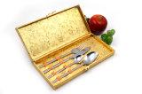 Utensílios de mesa do casamento da pratas da restauração do aço inoxidável
