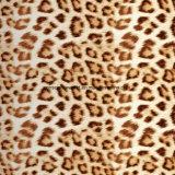 100% Polyester Leopard Leopard Pigment & Disperse Tecido impresso para conjuntos de cama