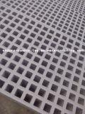 UV упорная высокопрочная решетка GRP, стеклоткань с плоско скрежетать