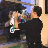 Kundenspezifischer wasserdichter bekanntmachender entfernbarer gestempelschnittener Static haften Fenster-Film an