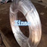 Fio de aço galvanizado para o fio 3kg-500kg/Coil do laço do Rebar do material de construção