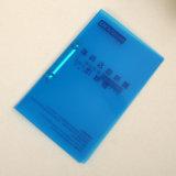 Costume seu dobrador de arquivo da pasta de anel dos PP 2 do tamanho da impressão A4