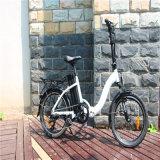 """2017 좋은 품질 36V 250W 20 """" 접히는 전기 자전거 자전거"""