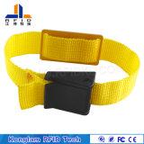 Beständig gegen Feuchtigkeitumsponnenen RFID intelligenten Wristband für Arbeitsweg-Pakete