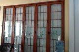 Дверь складчатости рамки алюминиевого сплава специальности большая
