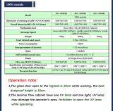 Cabinet de sécurité biologique chimique en acier inoxydable (BSC-1000IIB2)