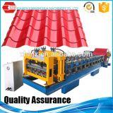 波形を付けられる艶をかけられたタイル屋根のシート・メタル機械を形作るパネルロールに屋根を付ける