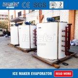 L'aria ha raffreddato il corpo cilindrico vaporizzatore industriale della macchina del fiocco del ghiaccio 10t