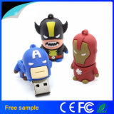 Cheap Super Hero PVC 64GB USB Memory Stick