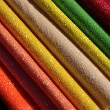 Cuir coloré de scintillement pour le cuir de vêtement de bagage de capitonnage de sac de main de chaussure