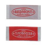 Etiqueta tecida roupa de tecelagem da definição elevada