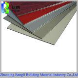 Hoja compuesta de aluminio sólida del aluminio del panel 3m m 4m m 5m m del PE PVDF del color