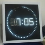 El reloj de pared del cuadrado LED Digital Hunging para la decoración casera