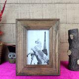 Blocco per grafici di legno della foto di stile antico per la decorazione della famiglia